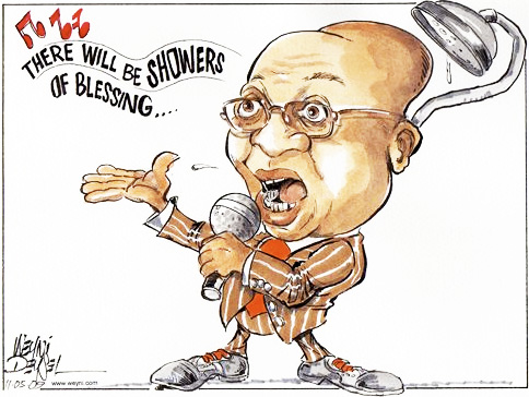 'Songs of Praise': Africartoons.com